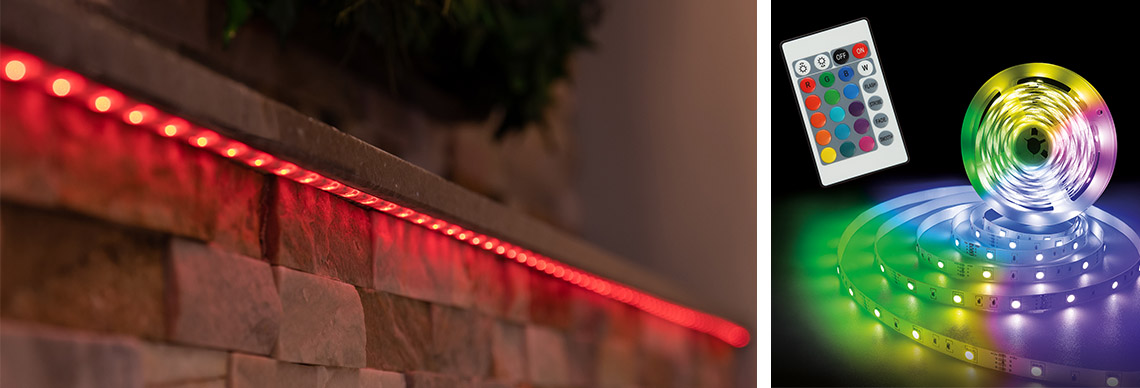 LED Flexband smart Farbwechsel dimmbar kürzbar
