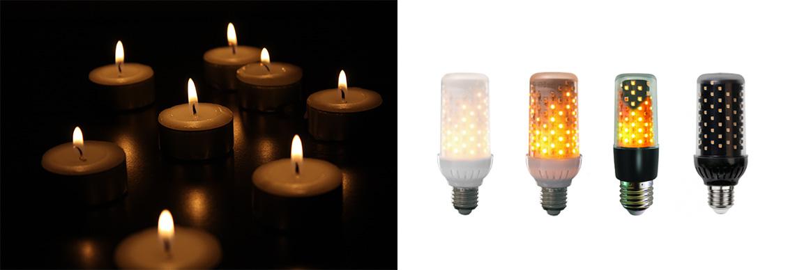 Alternative zu Kerzen Firelamp