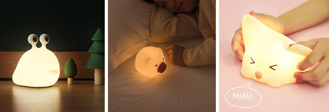 eggy and friends - Nachtlicht und Einschlafhilfe für Kinder und Babies