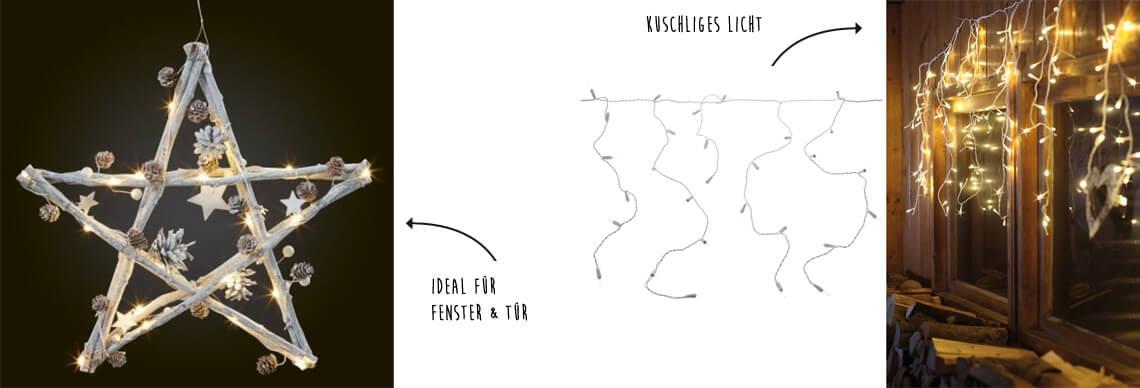 Bild - Fensterbeleuchtungsideen