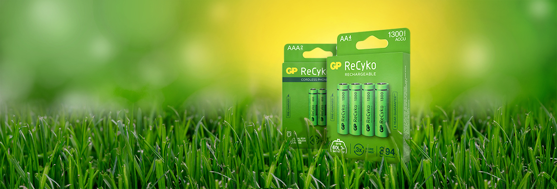 Wiederaufladbare Batterien Akkus