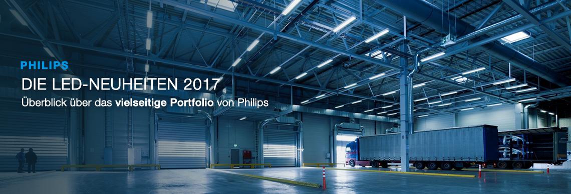 Header_ Philips LED Neuheiten im Überblick