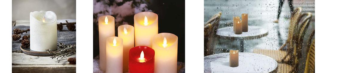 LED Kerzen wie echt