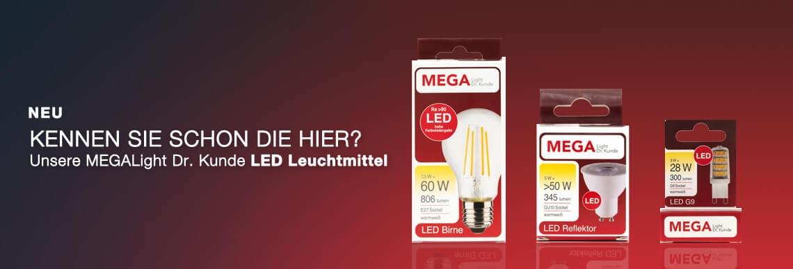 LED Leuchtmittel von MEGALight