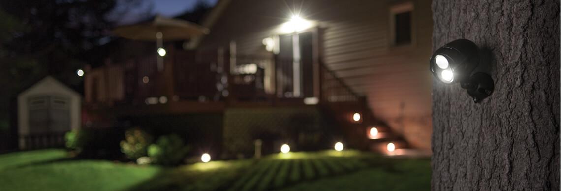 Batterielicht für Außen
