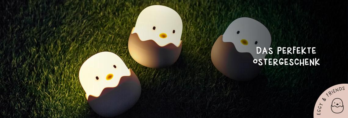 Eggy and Friends - das perfekte Ostergeschenk fuer Baby und Kind