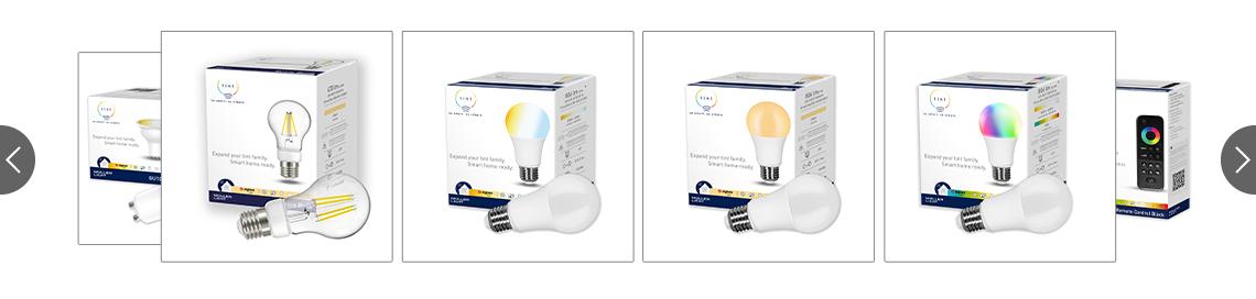Tint LED Leuchtmittel