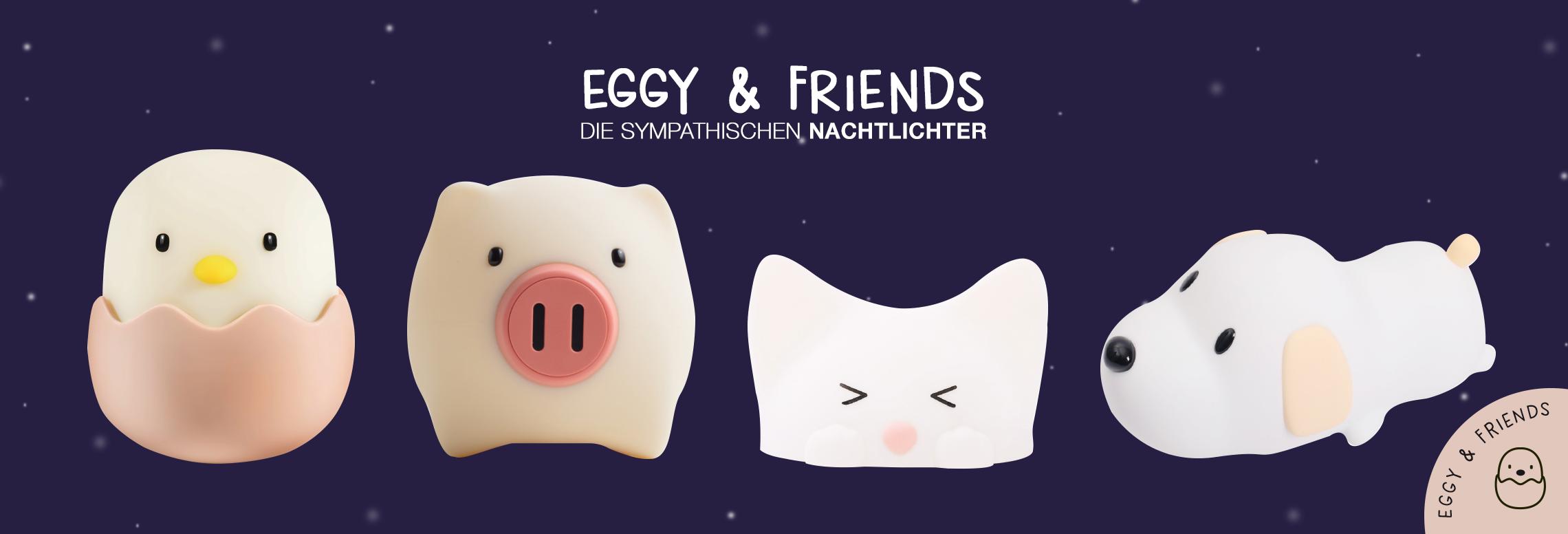 Eggy&Friends Kindernachtlichter